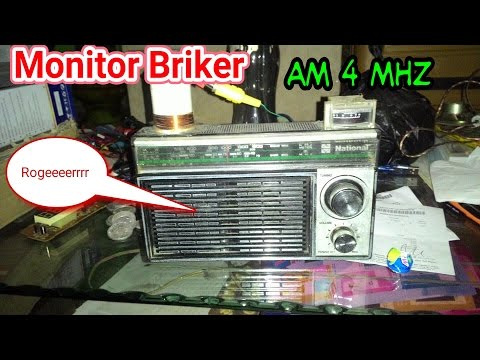 Monitor Radio Amatir 4Mhz 80meter AM