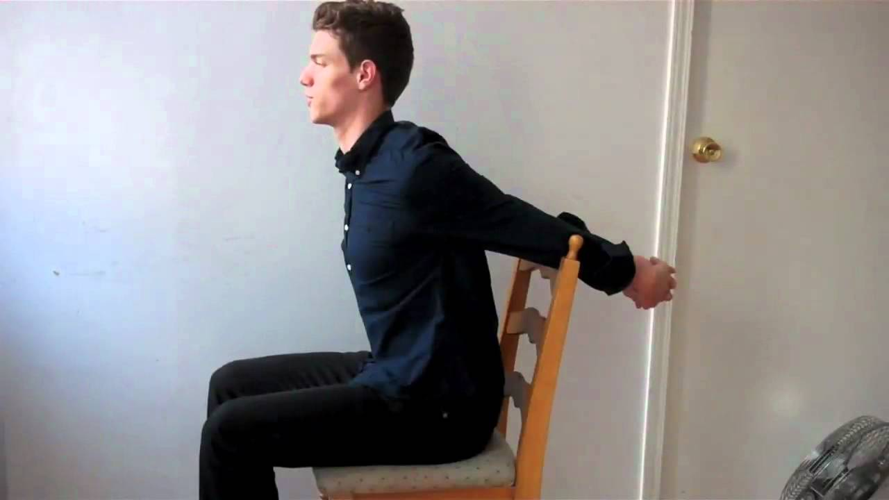 better posture chair papasan cushion pier one correction exercises for your upper back workout in youtube