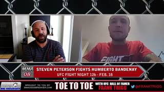 Frank Trigg pre-fight interview with UFC Austin's Steven Peterson