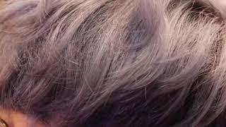 익산헤어시크 에쉬퍼플  로레알염색
