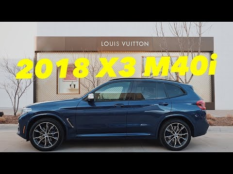 FINALLY!! A Sporty CUV Done Right!---2018 BMW X3 M40i Review