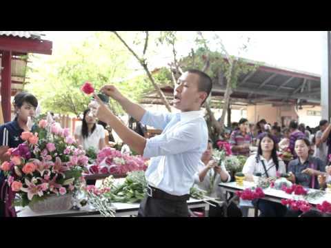 อบรมการจัดดอกไม้ 2