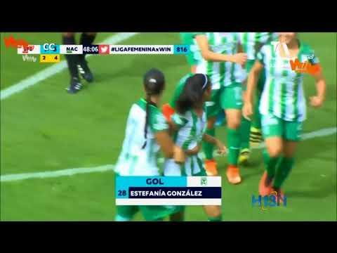 Día histórico para las chicas del club Atlético Nacional