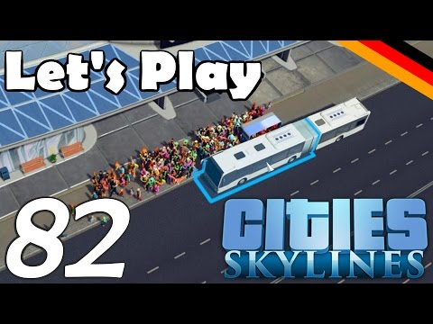 Cities: Skylines #82 - FETTE neue BUSSE & Massenwanderung! [1080p60/Facecam] - Let's Play! [German]