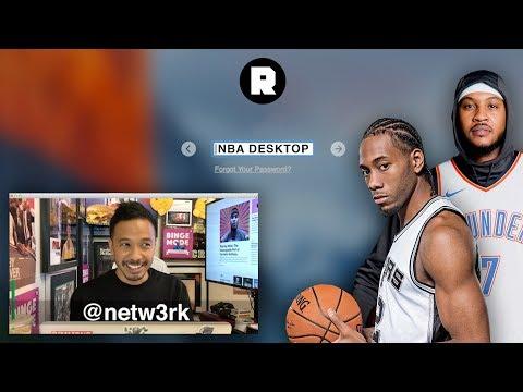 NBA Desktop With Jason Concepcion | Sad Melo, Kawhi's Brand, And Tate Frazier On Nike | The Ringer