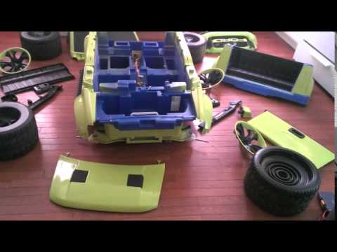 Custom Power Wheels Ford Raptor F 150 Youtube