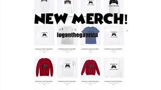 New loganthegamsta merch!