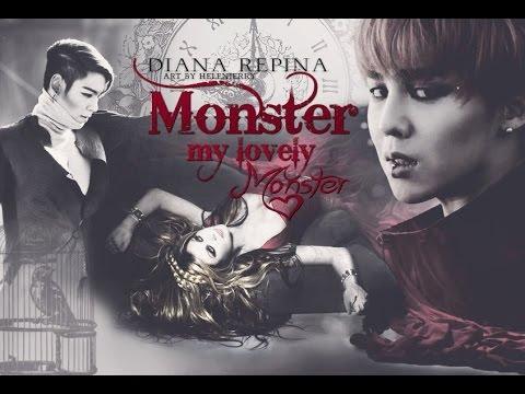 "MV Teaser ""MONSTER, MY LOVELY MONSTER..."" (Fanfic, writer Diana Repina; Fandom BigBang)"
