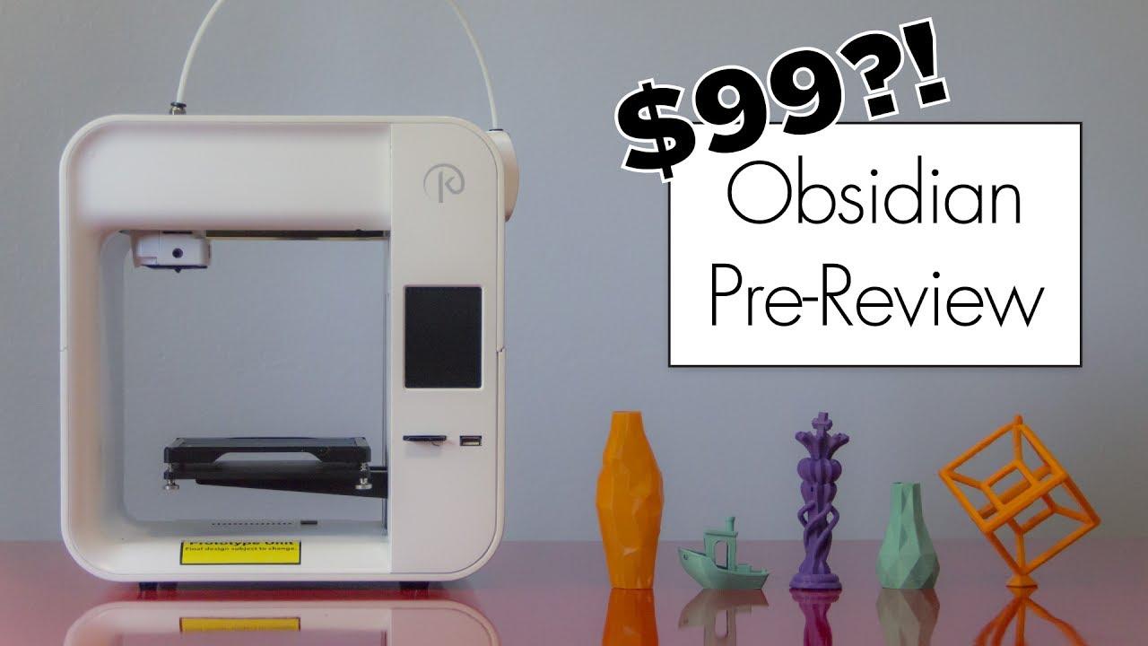 video Kodama Obsidian 3D Printer