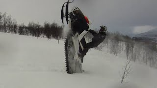 TEAM FARMER LIPS 2014 Snowmobile Movie, SWEDEN BACKCOUNTRY RIDING