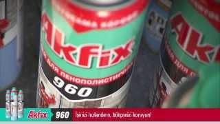 Akfix 960 Mantolama Köpüğü