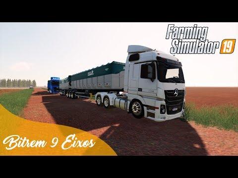 EFETUANDO O PRIMEIRO ARMAZENAMENTO DA SILAGEM   MATOPIBA V2   Farming Simulator 19 - Logitech G27