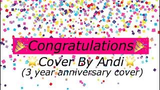 Congratulations-(cover by andi)