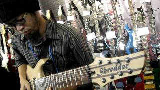 Music Malaysia - Indonesian 8 String Insane Guitarist