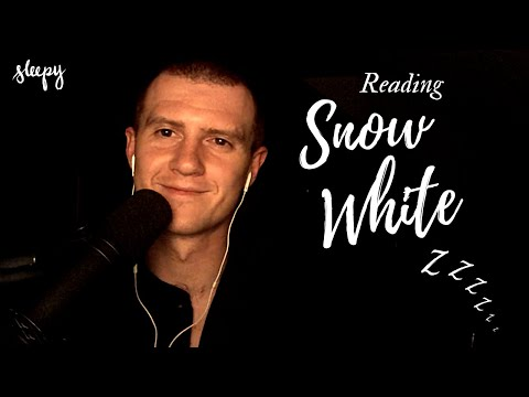 "ASMR Sleepy Bedtime Reading ""Snow White"" – Soft Spoken, Deep Voice, Page Turning, Read To Sleep"