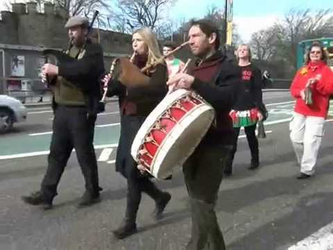 Welsh bagpipes - St  Davids Day, Cardiff 2014