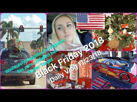 Black Friday 2018 in Cape Coral + Super Target tausende Weih