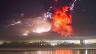 La cara del demonio en el Volcán Calbuco (Chile)