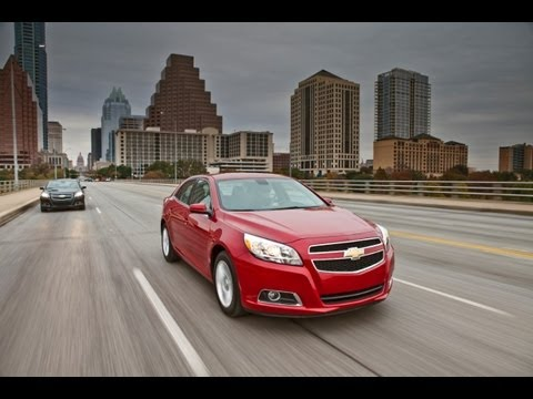 Real World Test Drive, Launch of the 2013 Chevy Malibu