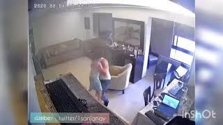 Video Detik-detik Ayah Menenangkan Putranya Saat Ledakan Lebanon