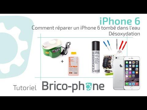 Comment Reparer Un Iphone Tombe Dans L Eau