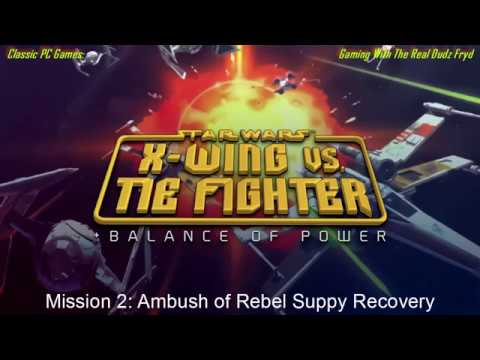 Star Wars X-wing vs. Tie Fighter Mission 2 (As Imperial) - Ambush Rebel Supply  