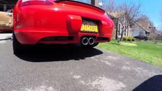 Porsche Cayman S CS Remus Exhaust