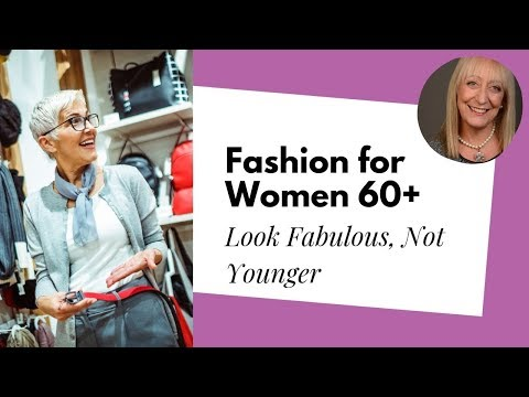 Fashion for Women Over 60 -- Look Fabulous Without Trying to Look Younger | Sixty and Me Articles