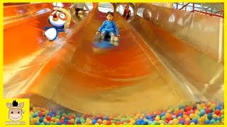 Indoor Playground Learn Colors Play Family Slide Rainbow Ball Fun for Kids Colors | MariAndKids Toys