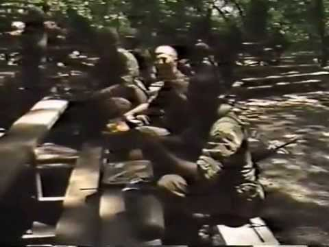 Fort Sill, Oklahoma Army Basic Training Graduation Video 1987