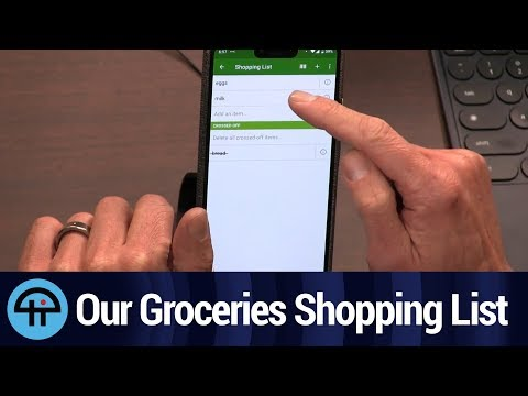 Our Groceries Shopping List For Android