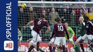 Andy Webster Skill Forces Smart Save, Hibernian 0-0 Hearts, 10/03/2013