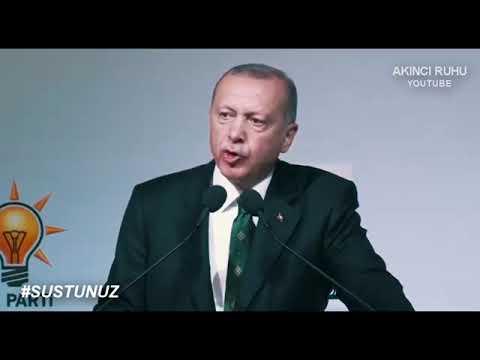 Susamam şarkısına Recep Tayyip Erdoğan'ın yanıtı #susamam #susmam #receptayy