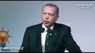 Susamam şarkısına Recep Tayyip Erdoğan'ın yanıtı #susamam #susmam #receptayyiperdogan