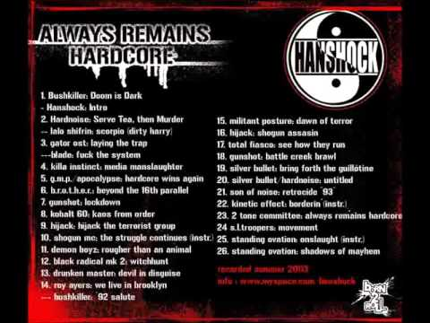Han Shock - Always Remain Hardcore UK Hip Hop Mix (Old School / Britcore)