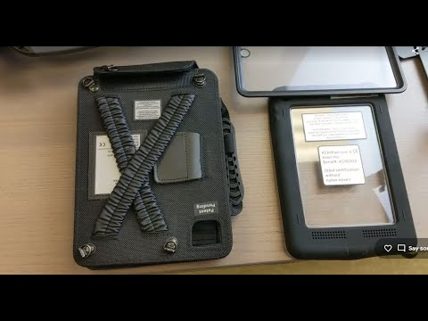 Intrinsically Safe iPad Mini Case Class 1 Division 2 ATEX Zone 2