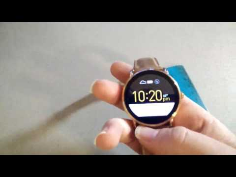 Fossil Q Wander Gen 2 Touchscreen Tan Leather Smartwatch Review
