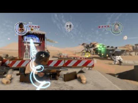 LEGO STAR WARS The Force Awakens game play |