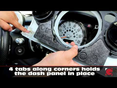 BMW Mini Cooper Car Stereo Removal guite and iPod iPhone Android Bluetooth USB Adapter Install