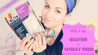 Why I am Gluten and Wheat Free + My favorite snacks! Thumbnail