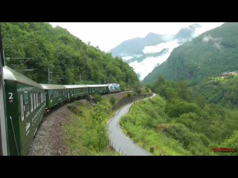 Norway, The Flam Railway - Trip to Norwegian Fjords - part 36 -Travel,calatorii,vlog