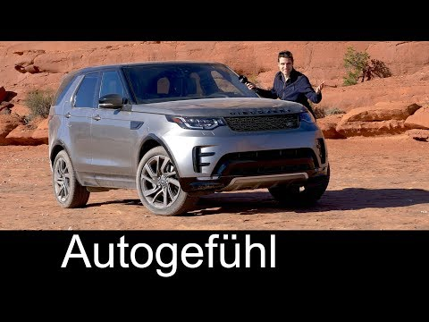 Land Rover Discovery 5 FULL REVIEW 2018 offroad @ Land Rover