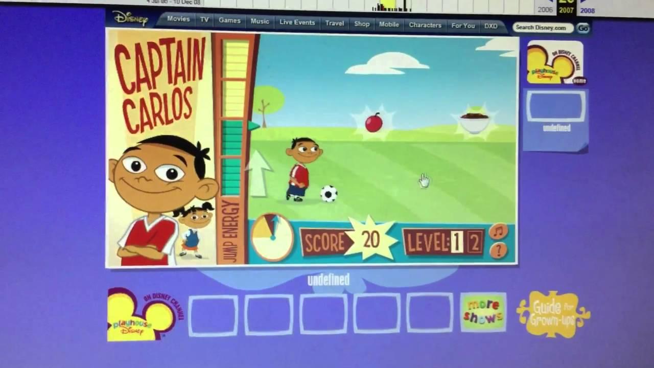 Teegan Playing Captain Carlos Game Youtube