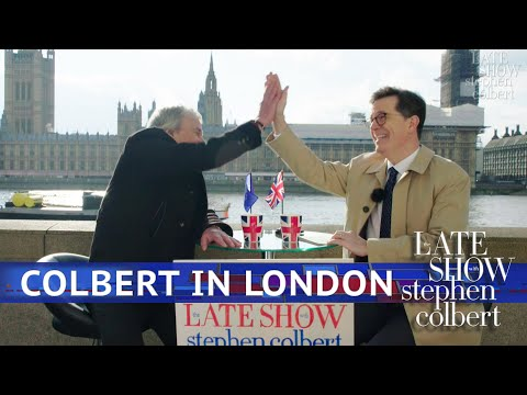 See The Late Show's Street Show: London Edition!