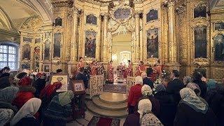 Праздничная архиерейская литургия(Престольный праздник 8 февраля 2013 г. в день памяти сщмч. Климента папы Римского и Петра архиепископа Алексан..., 2014-03-14T06:55:48.000Z)