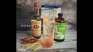 Honey Lavender Highball Kit