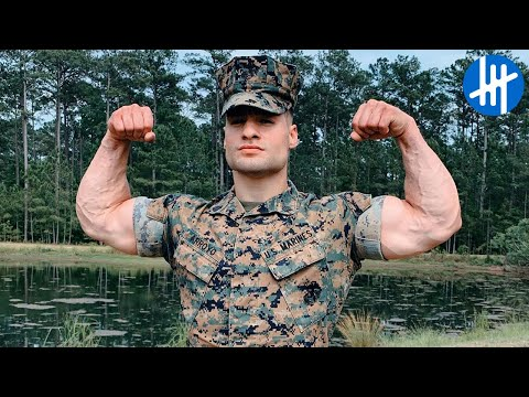 Strongest U.S. Marine - Julian Miguel Arroyo | Muscle Madness
