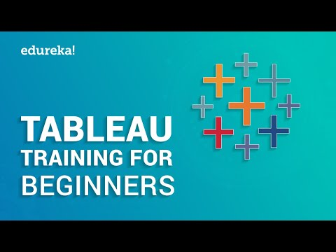 Tableau Training for Beginners Part 1 | Tableau Tutorial for