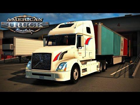 American Truck Simulator - Episode 54 - Wallbert Volvo VNL 670!