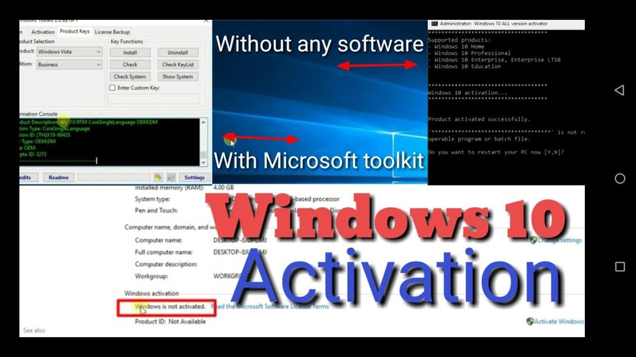 windows 10 activation crack 2018